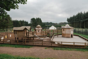 Wide view of the Fort Douglas Dalkeith Toddler Play
