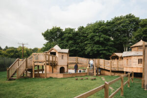 another wide view of the Fort Douglas Toddler Play Dalkeith Country Park