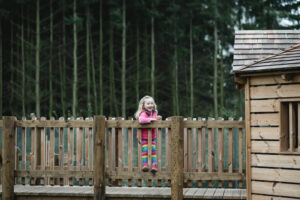 beautiful backdrop within the Dalkeith Toddler Play area