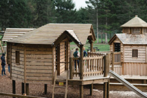here you can see the scale of the Dalkeith Toddler Play