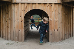 tunnels and clamber areas Dalkeith Toddler Play