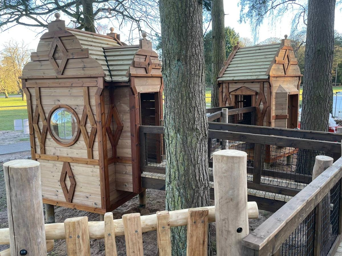 The new adventure play area at Sandringham by CAP.Co Toddler play detail