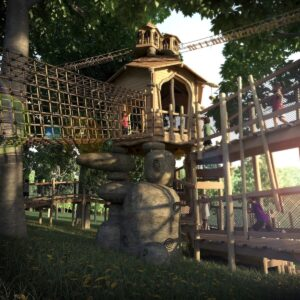 Bringing the Stonor Park Play to life with CGI of Tumblestone Hollow 2