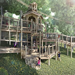 Bringing the Stonor Park Play to life with CGI of Tumblestone Hollow 3