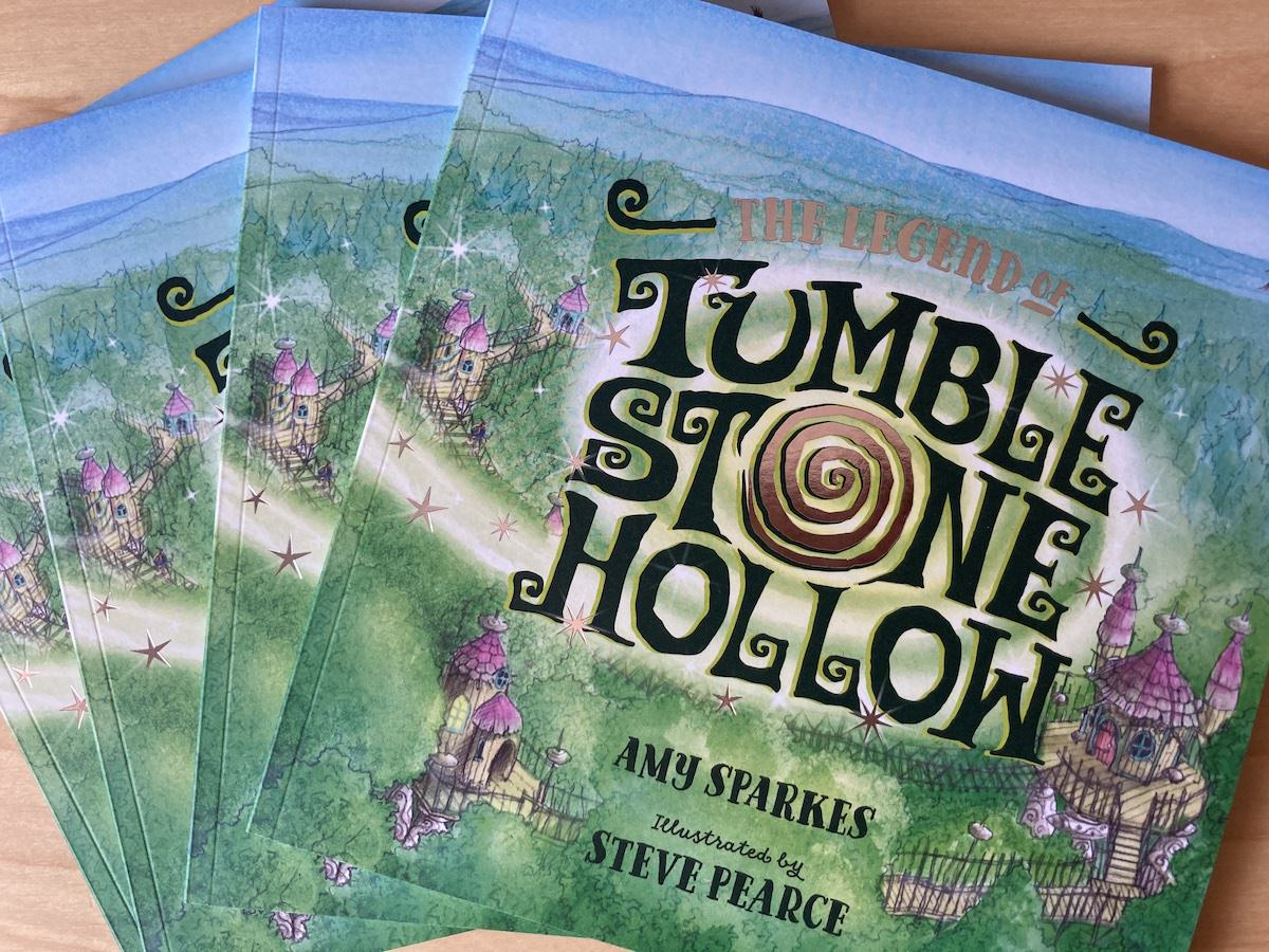 The finished book - The Legend of Tumblestone Hollow