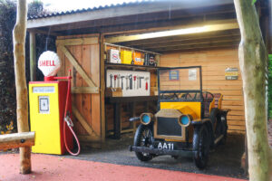 And work on your car maintenance skills at Little Beaulieu - Hang on doesnt that have a flat tyre