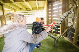 Enjoy the musical instruments within the adventure play Little Beaulieu