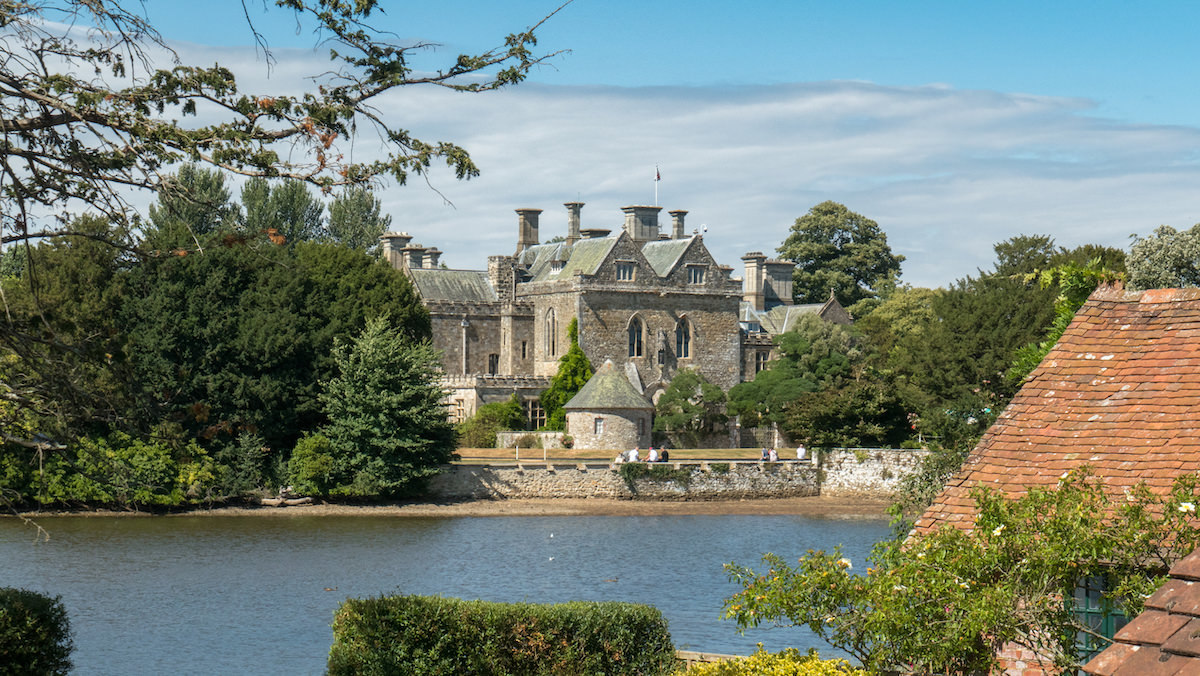 Palace House at Beaulieu in the New Forest
