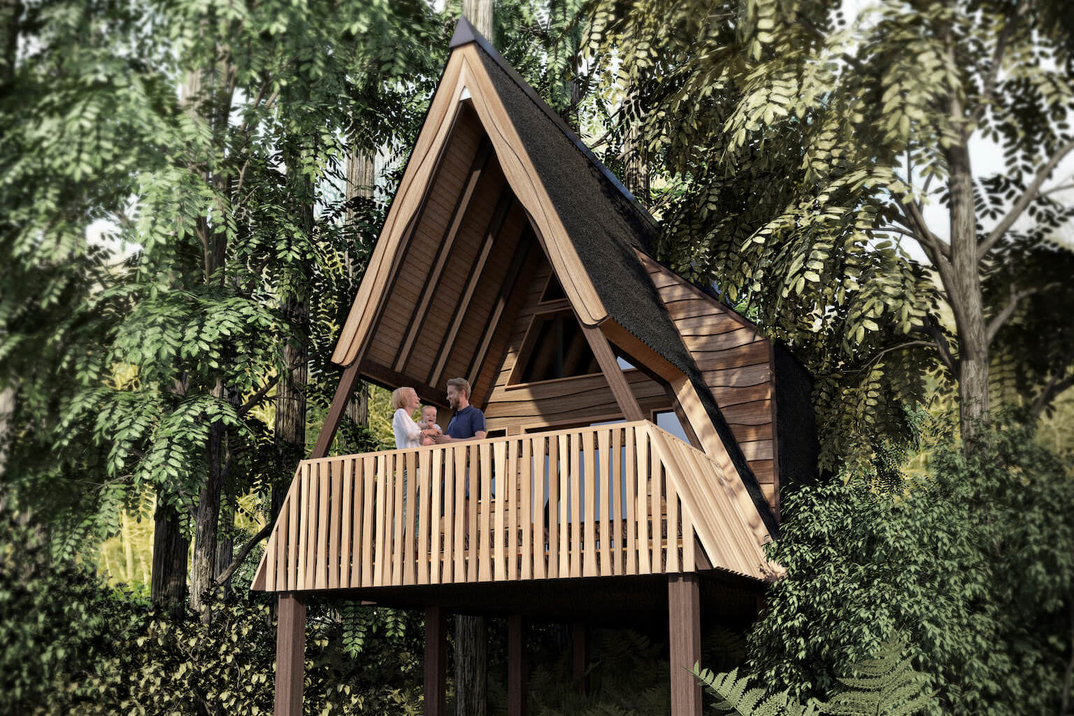 Whitlingham Broad Campsite Treehouse Lead