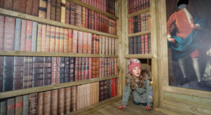 You can even climb through the library and its secret doors at Little Beaulieu