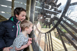 You can even peer through the clock at the wonderful Little Beaulieu