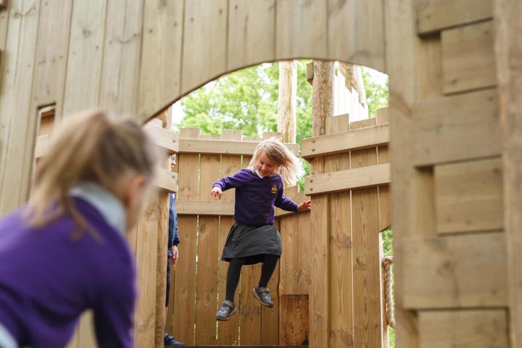 Mundesley school ks1 adventure play 1