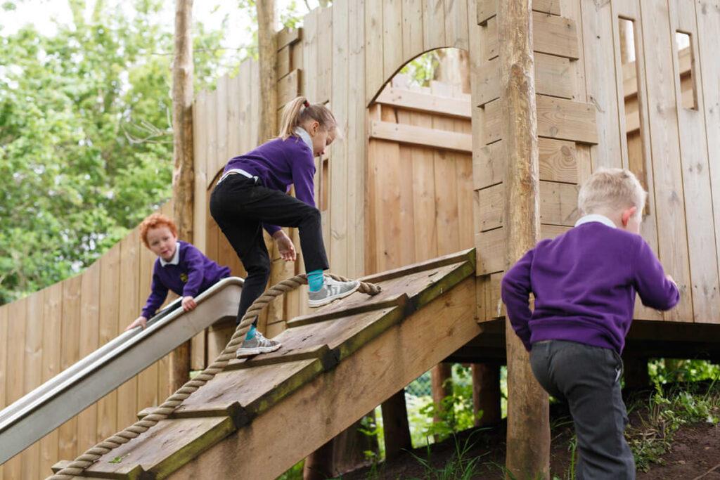 Mundesley school ks1 adventure play 2