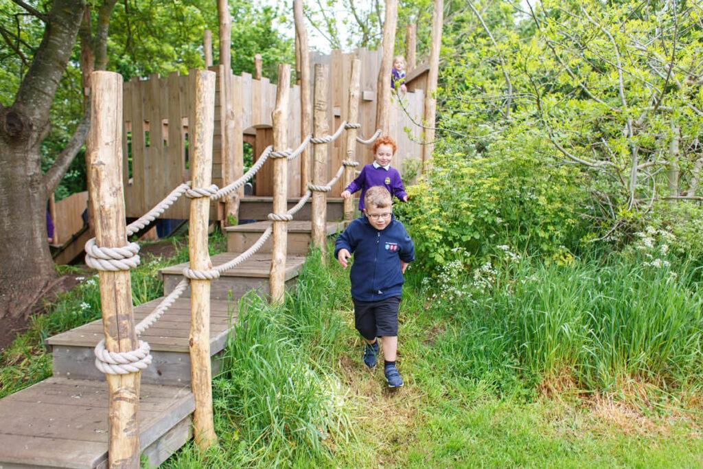 Mundesley school ks1 adventure play 4