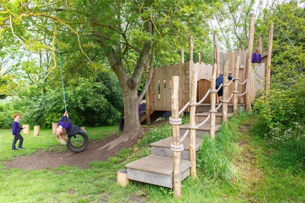 Mundesley school ks1 adventure play 5