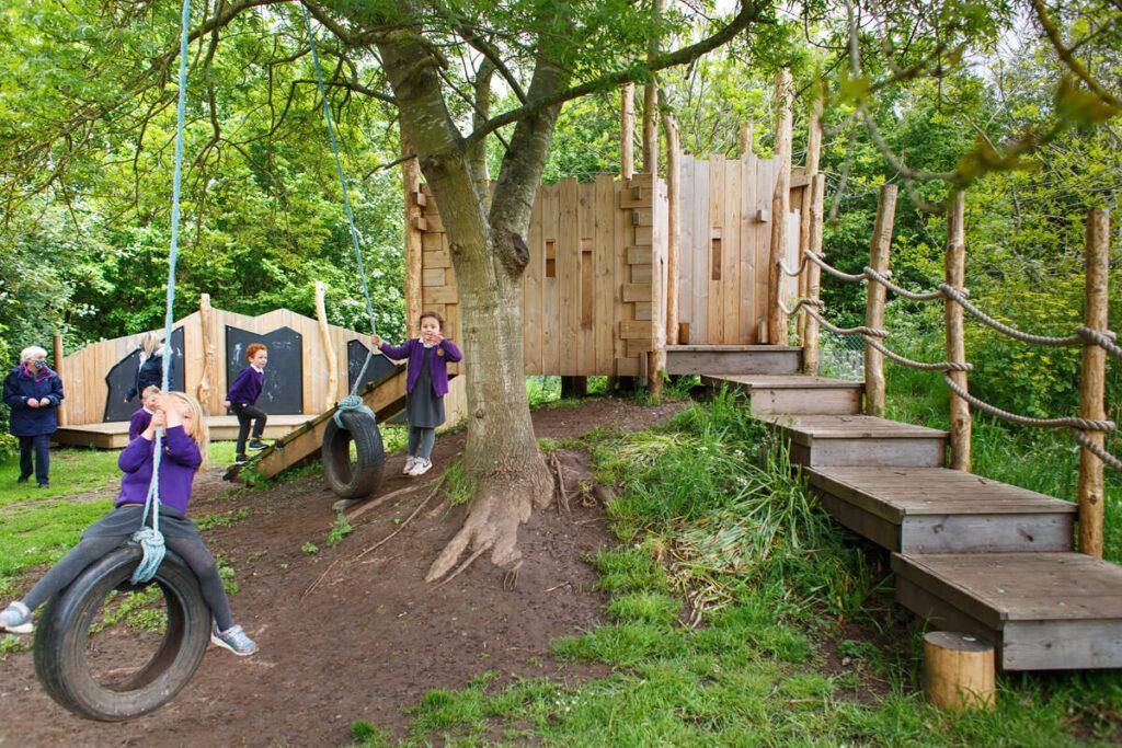 Mundesley school ks1 adventure play 6