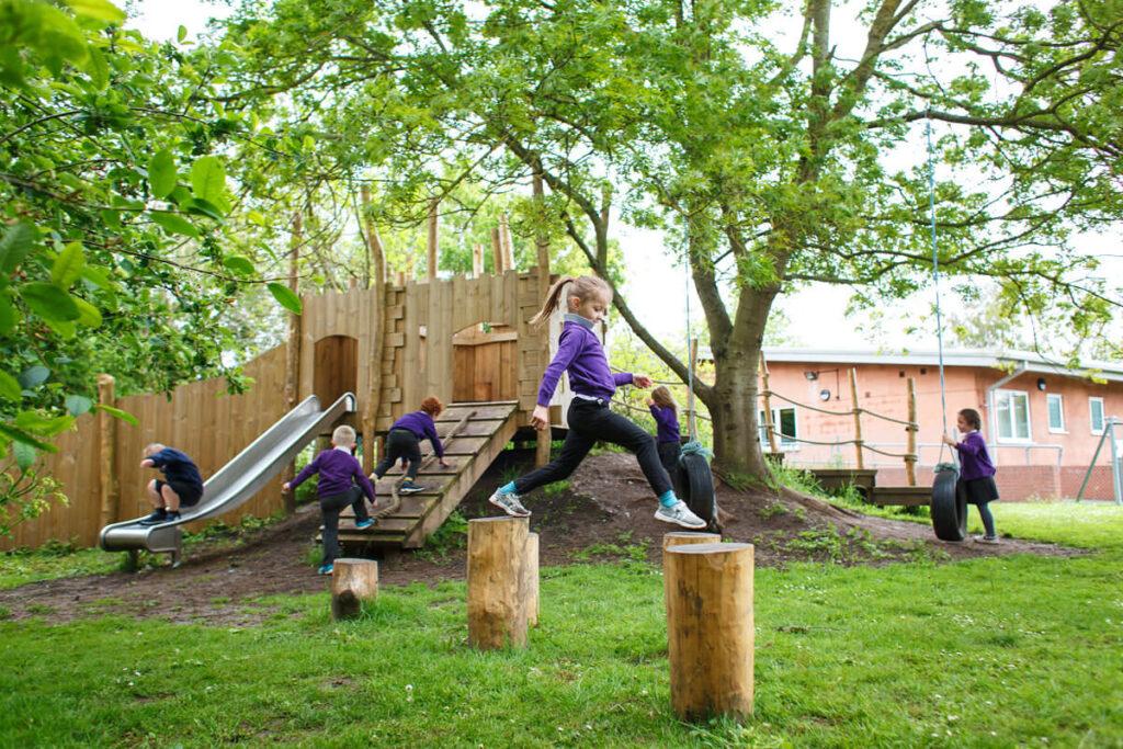 Mundesley school ks1 adventure play 8