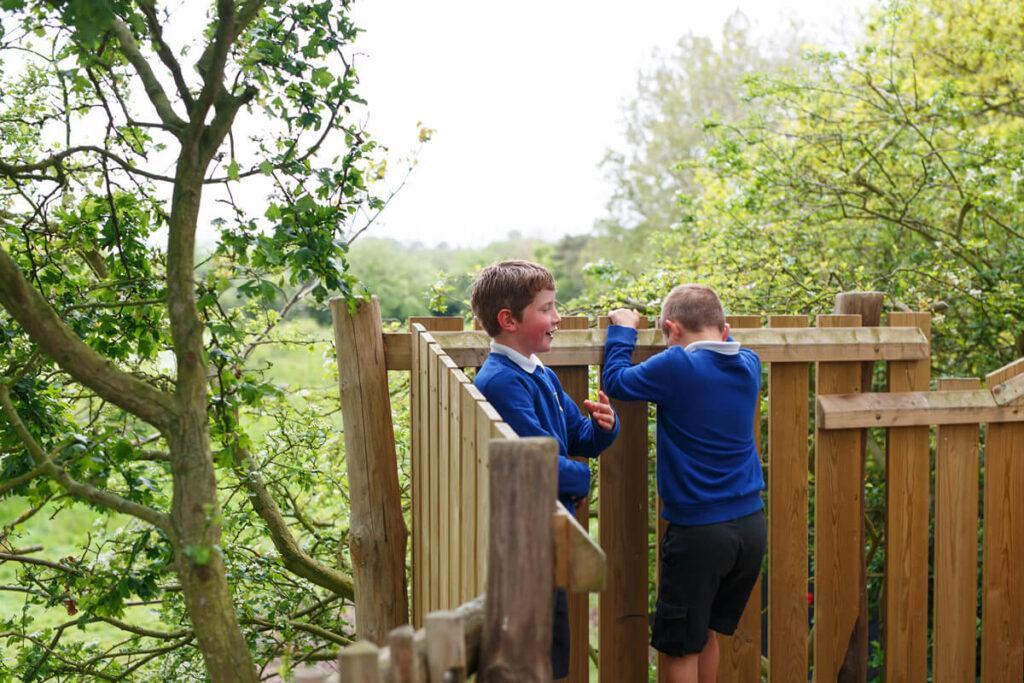 Mundesley school ks2 adventure play 10