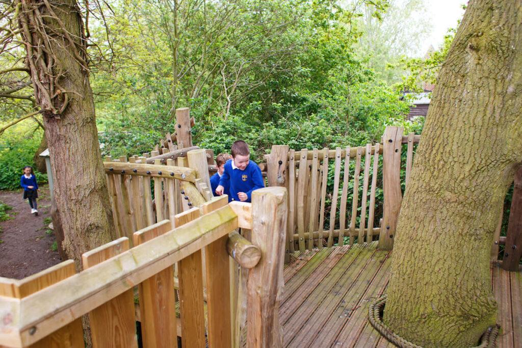 Mundesley school ks2 adventure play 4