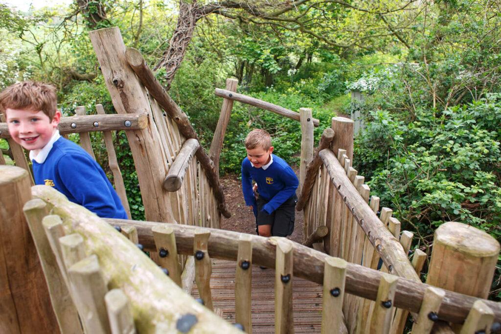 Mundesley school ks2 adventure play 7