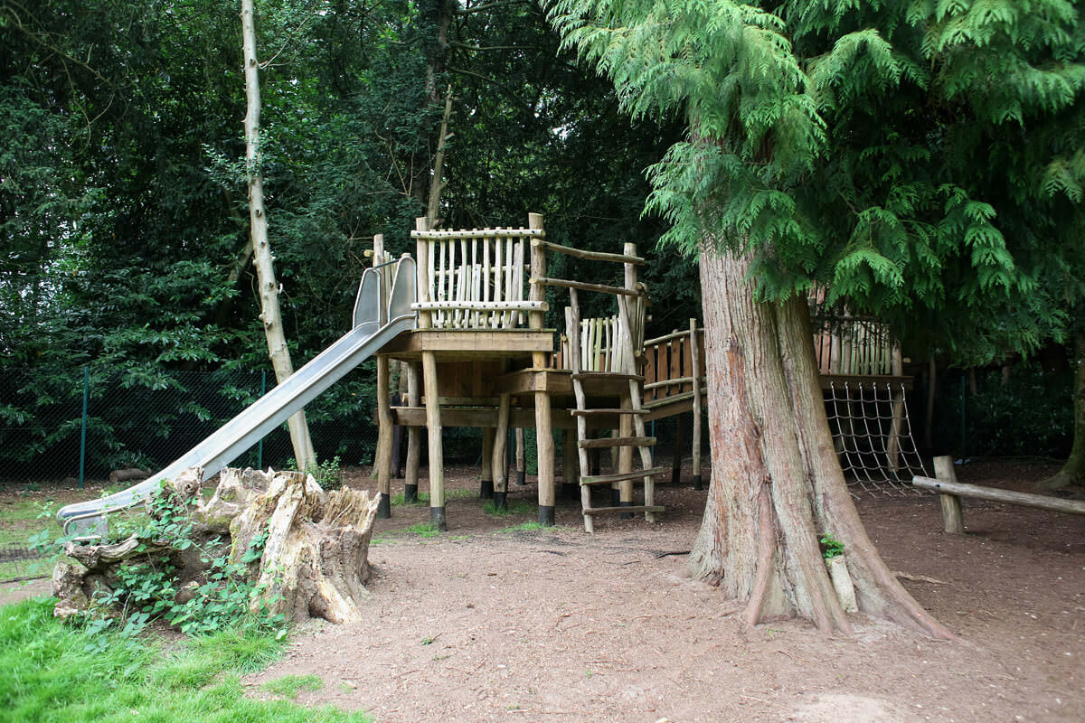 Finished adventure play at Eccles School by CAP.Co Creating Adventurous places