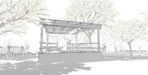 Poringland Phase 2 - Bandstand
