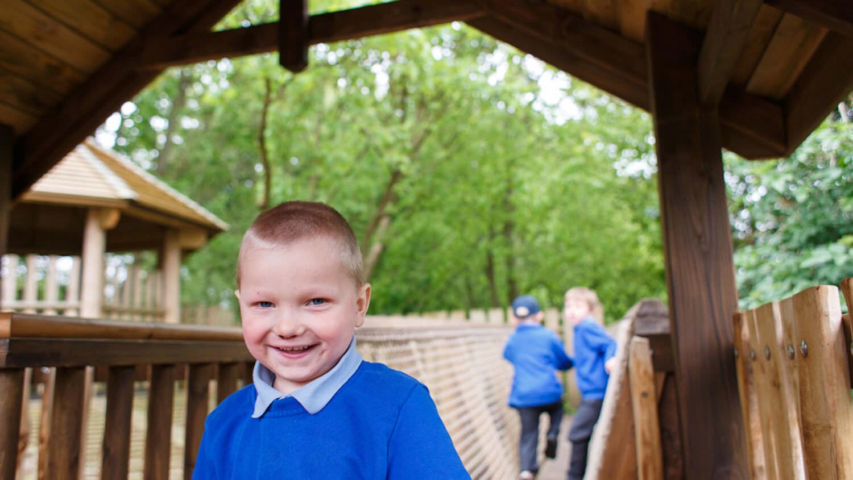Poringland School Adventure Play by CAP.Co 1 LEAD