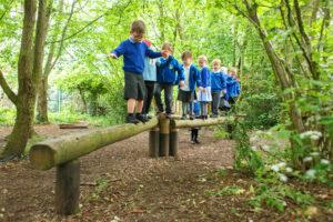 Poringland School Adventure Play by CAP.Co