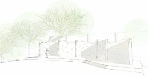 Poringland Sketch Wall