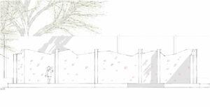 Poringland Sketch Wall2