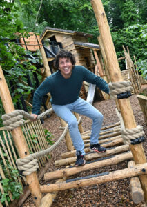 Andy Day at The Madeley Wood Co. Outdoor Adventure by CAP.Co